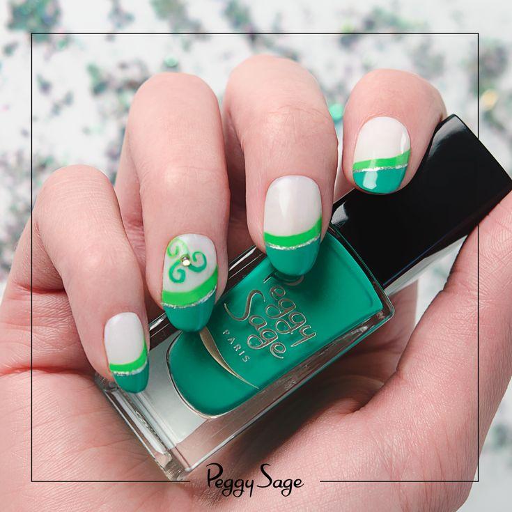 nail art peggy sage