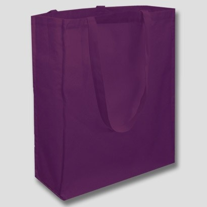 Shopping bags in various colours available.