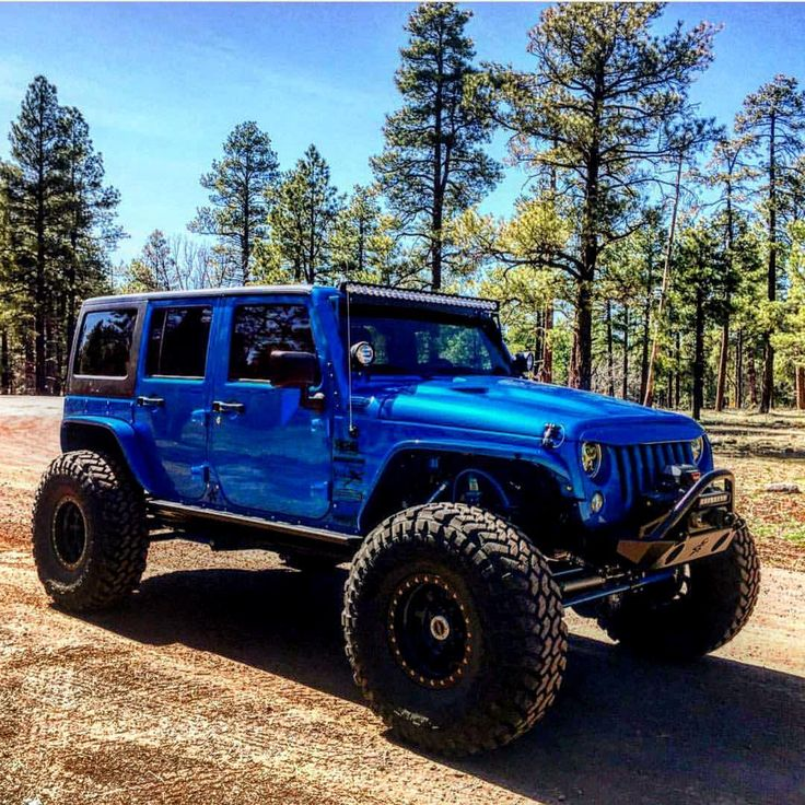 The 25 Best Blue Jeep Ideas On Pinterest: 1000+ Ideas About Lifted Jeeps On Pinterest