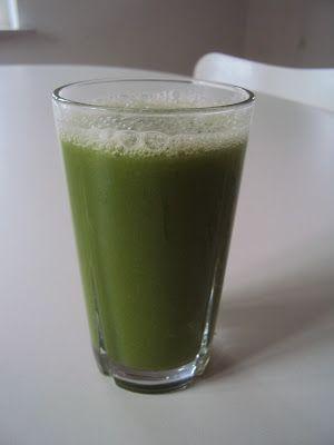 Grøn juice og fiberbrød