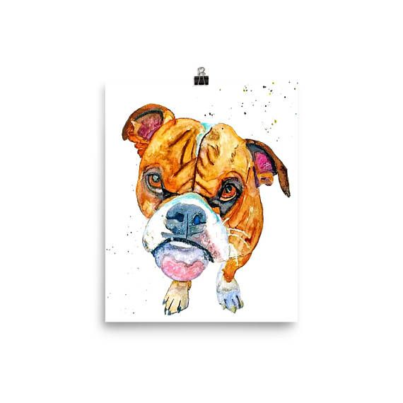 Boxer dog lover best gifts for wife or husband for birthday.