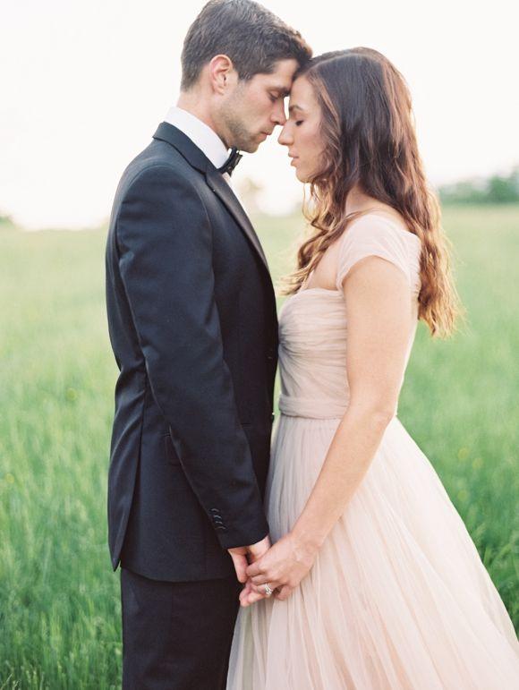 Blush Pink Wedding Gown Weddingsparrowcouk 2014