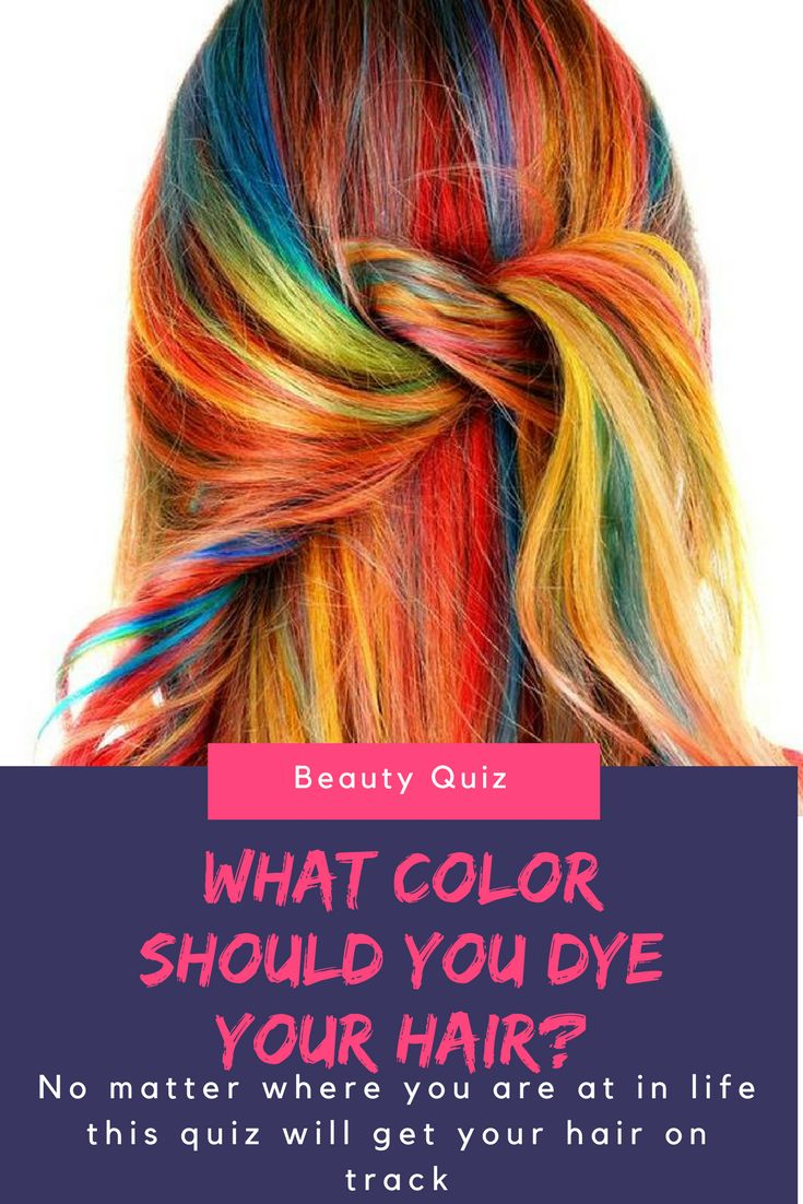 People tend to change up their styles very often, and your hair is the perfect place to start. Which of these colors should you dye your hair? Take this quiz to find out.