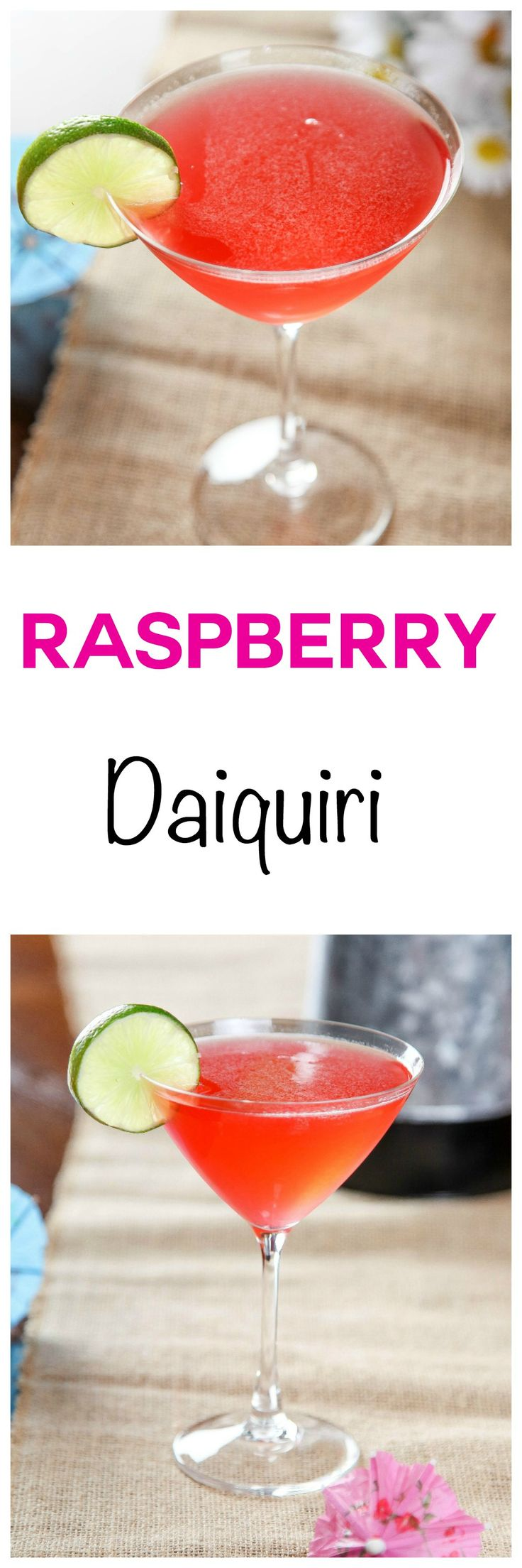 Raspberry Daiquiri: This amazingly refreshing cocktail has the perfect ...