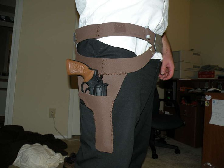 How to Make Han Solo's belt (instructions are for foam, but you could substitute faux leather)