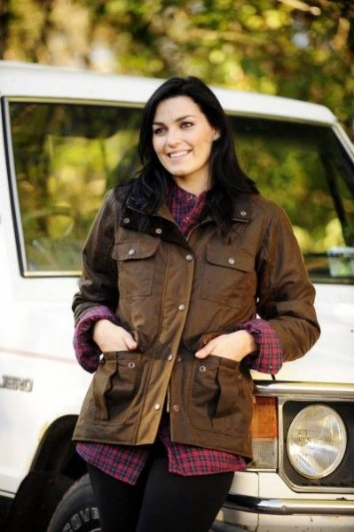 Lisroe jacket deep brown