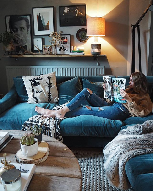 Ad Did Someone Say Autumn Was The Season For Snuggling Under A Blanket And Getting Cosy On The Sof Cosy Living Room Corner Sofa Living Room Comfy Living Room