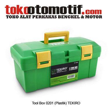 Kode : 01079023301 Nama : Tool Box 0201 (Plastik) Merk : Tekiro Tipe : TB901 Status : Siap Berat Kirim : 3 Kg
