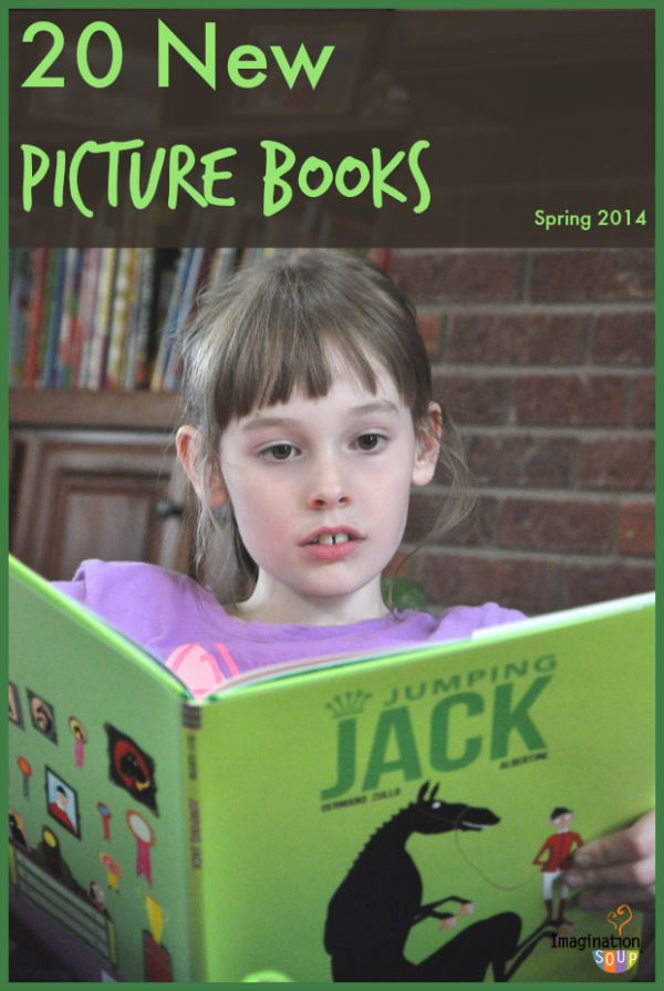 love these lists!! --> 20 new picture books spring 2014