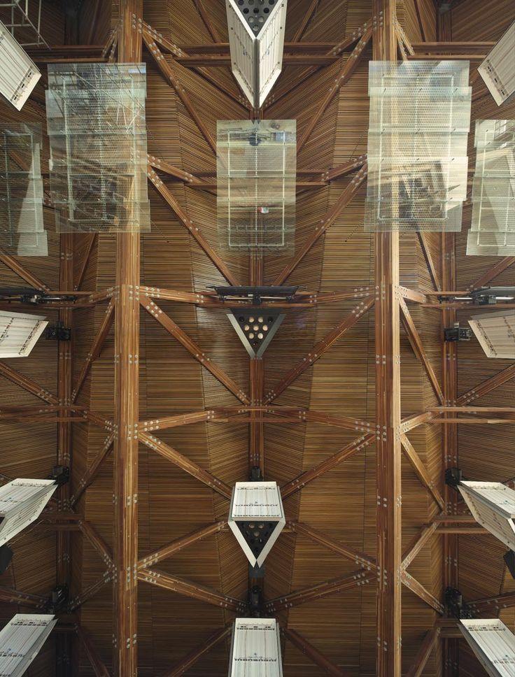AEB Auditorium Timber Trusses