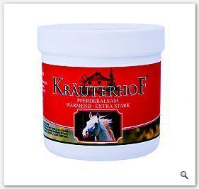 KRAUTERHOF Maść końska rozgrzewająca Pferdebalsam Warmend balsam koński silnie rozgrzewający 500ml