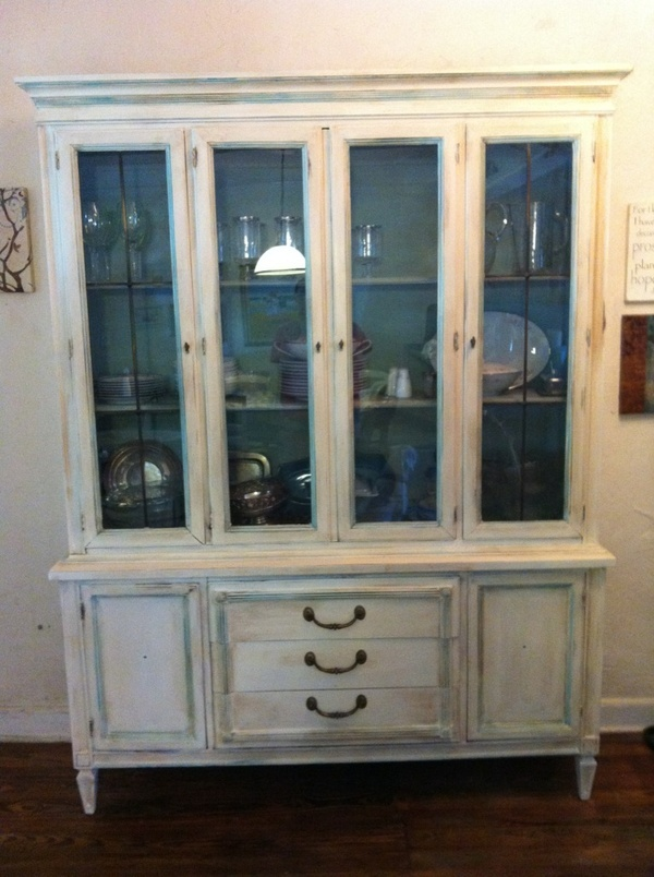 48 Best Images About Chalk Paint China Cabinets On Pinterest