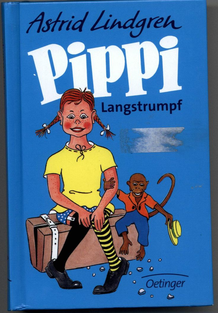 Pippi Langstrumpf by Astrid Lindgren. http://www.annabelchaffer.com/categories/Childrens-Gifts/