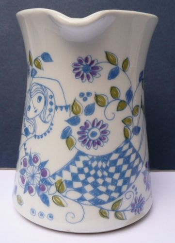 Lovely Vintage Figgjo Flint Turi Lotte Small Milk Jug 1970s/80s Norway
