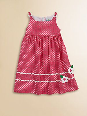 Florence Eiseman Toddler's & Little Girl's Polka Dot Dress