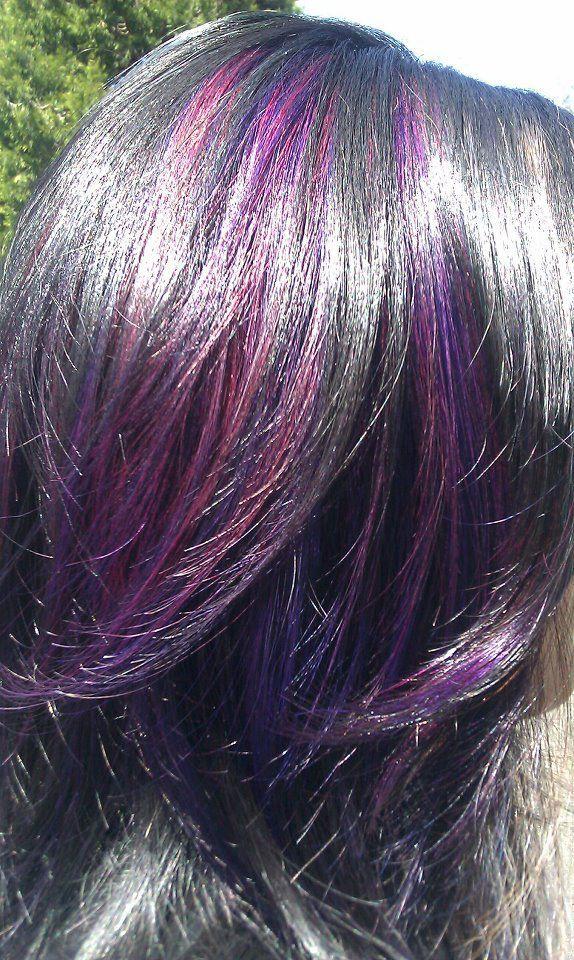pink and purple peekaboos