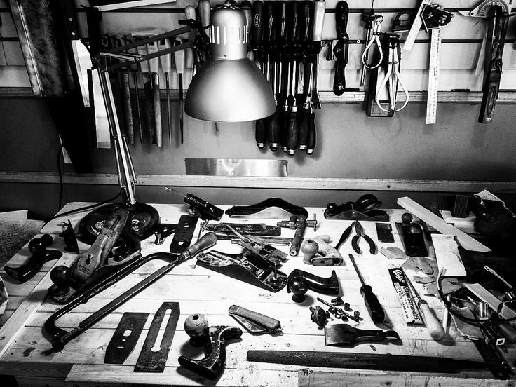 I've been wanting to post as part of #workspacespotlight ever since @markhrobinson started the tag last week. Spent a decent amount of time thinking that I should clean up a bit for the photo but this is a much more real representation of my workbench. Usually a state light chaos. Too many things on the go for the time I've got to do them so projects get started before others are finished and tools and parts get shuffled around competing for real estate. As chaotic as it is I kind of love…