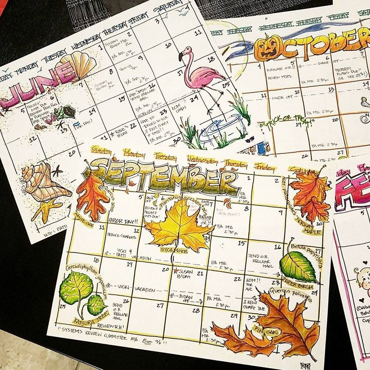"""1,460 Likes, 48 Comments - A Hayden (@craftyenginerd) on Instagram: """"Looks like I have to step my game up. These are calendars my MOM made when she was in college (late…"""""""