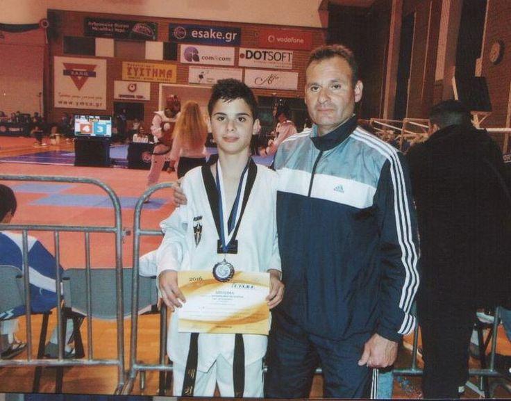 Ασημένιο μετάλλιο για τον αθλητικό σύλλογο «ΤΑΕΚΒΟΝΤΟ» Ελασσόνας
