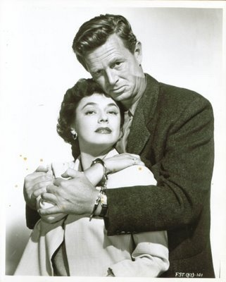 """Ruth Roman and Sterling Hayden - """"5 Steps to Danger"""" (1957)"""