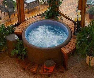 13 Best Images About Soft Hot Tubs On Pinterest