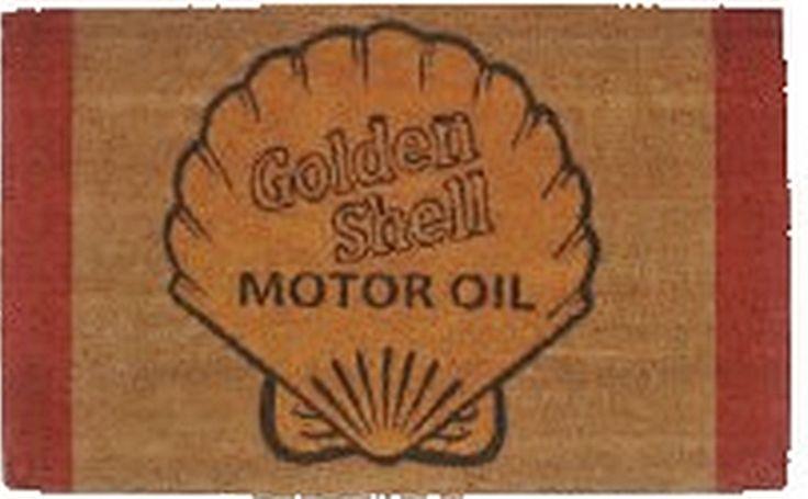 The Gecko Shack - Shell Oil Coir Fibre - Retro - Door Mat 75cm, $29.95 (http://www.geckoshack.com.au/shell-oil-coir-fibre-retro-door-mat-75cm/)
