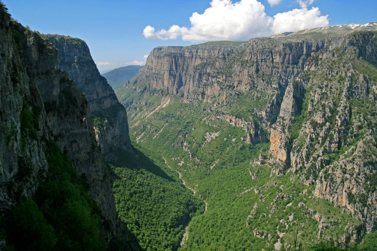 Vikos Gorge in Zagori, Greece