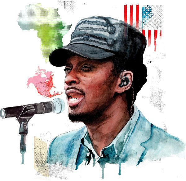 """K'NAAN on be authentic... Much respect.    """"So I am not the easiest sell to Top 40 radio. What I am is a fox who wanted to walk like a prophet and now is trying to rediscover its own stride."""""""