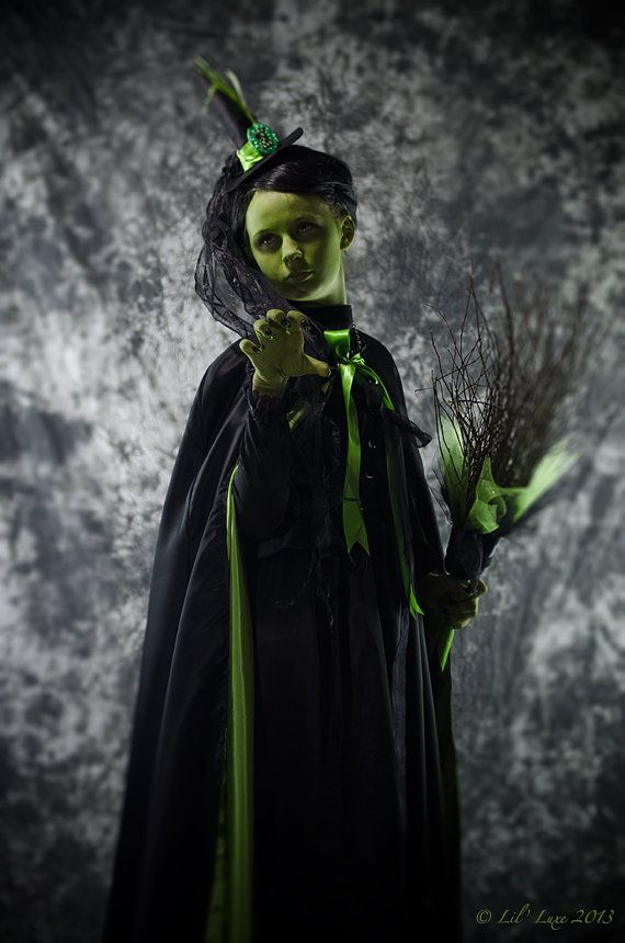 Wicked Witch of the West CAPE for WOMENS Halloween Costume of ...