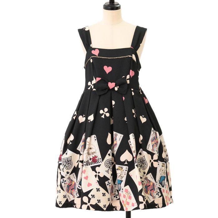 http://www.wunderwelt.jp/products/detail6961.html Vintage Trump print high waist switching dress luer-getter How to order ↓ http://www.wunderwelt.jp/user_data/shoppingguide-eng #egl