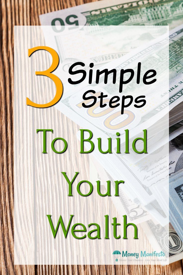 How To Build Wealth In 3 Simple Steps It S That Easy With Images Personal Finance Lessons Personal Finance Printables