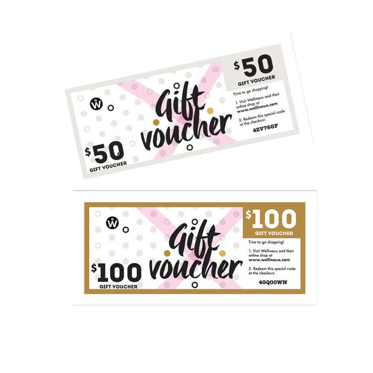 Personalised gift vouchers are available in both hard copy and digital format and can be sent to you via post or email, simply let us know your preference upon checkout. <3