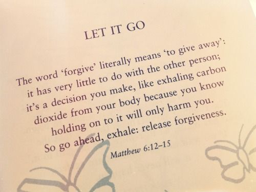 """There is power in letting go of the past and the frustration of trying to figure everything out. When you release your questions, you are saying, """"God, You are in control. I trust You."""" And when you put your hope in God, that's when He can heal your heart and lead you forward into His path of blessing."""