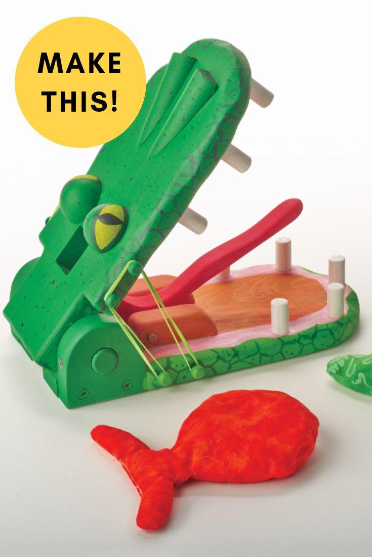 Gator Snap: Holzspielzeugpläne