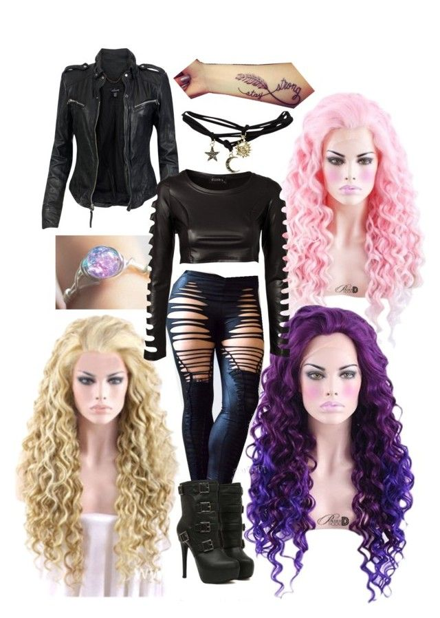 """witch hunter"" by rebelgoddess421 ❤ liked on Polyvore featuring MuuBaa, Wet Seal and Club L"