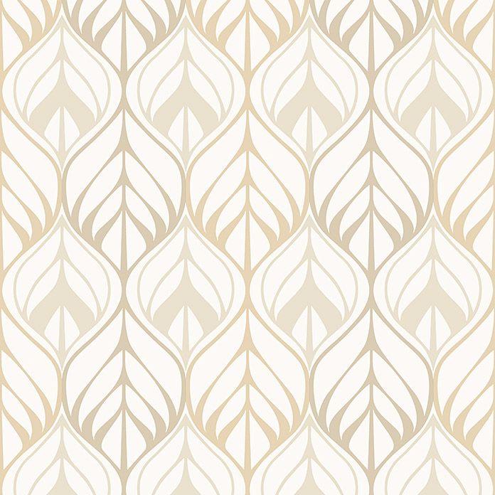A.S Cr/éation papel pintado Authentic walls beige marr/ón gris 10,05 m x 0,53 m 302581
