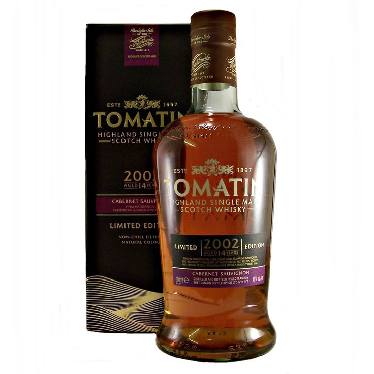 Tomatin 2002 Cabernet Sauvignon Cask Single Malt Whisky available to buy online at specialist whisky shop whiskys.co.uk Stamford Bridge York