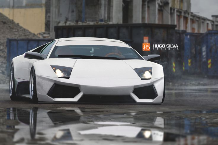 Lamborghini Murcielago widebody, Hugo Silva on ArtStation at https://www.artstation.com/artwork/6emRV