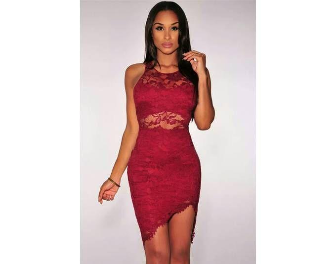Kleid rot mit Spitze Jetzt bestellen unter: https://mode.ladendirekt.de/damen/bekleidung/kleider/sonstige-kleider/?uid=9ba0a6fd-04e2-5d27-b4fc-01c471995e6e&utm_source=pinterest&utm_medium=pin&utm_campaign=boards #sonstigekleider #kleider #bekleidung