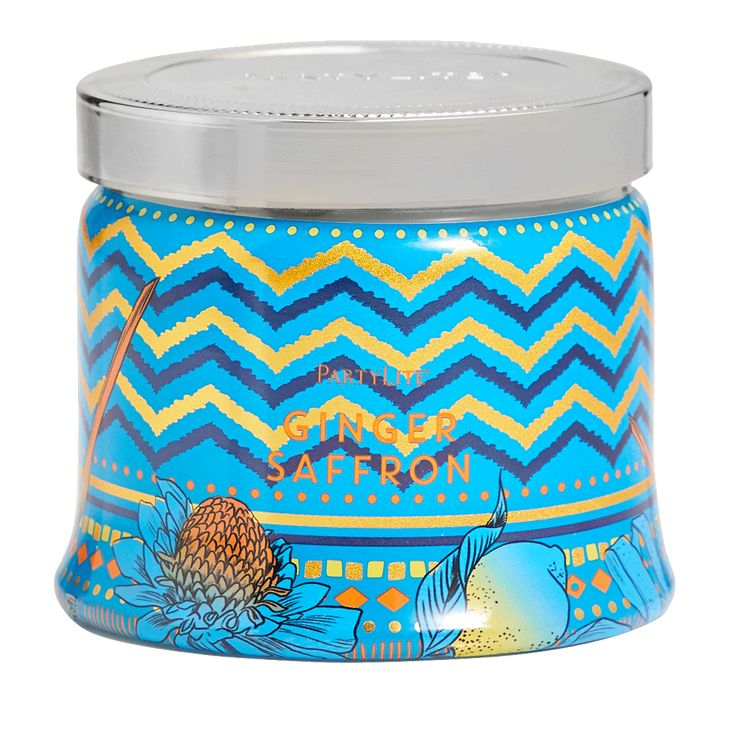 Ginger Saffron 3 Wick Jar Candle In 2020 Candle Jars Party Lite Candles Candles