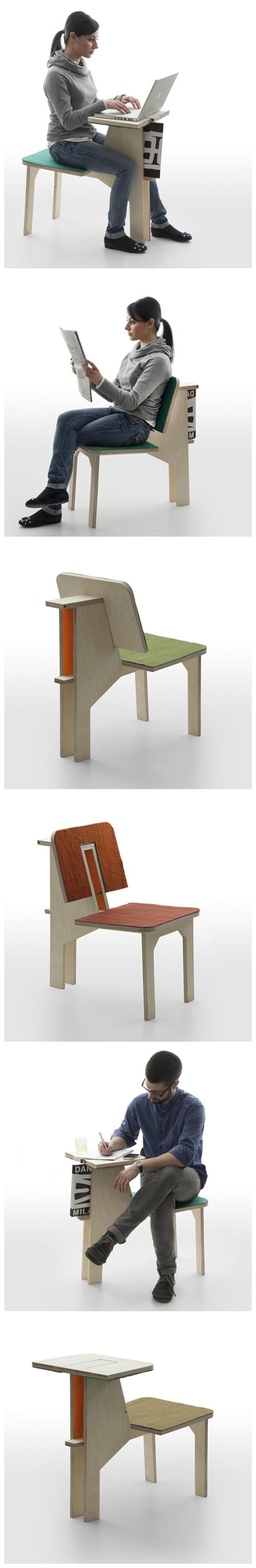 """æ³•å›½è ¾è ¡å¸ˆMatali Crasset为意大利品牌Daneseè ¾è ¡çš""""椅子,这是一个"""