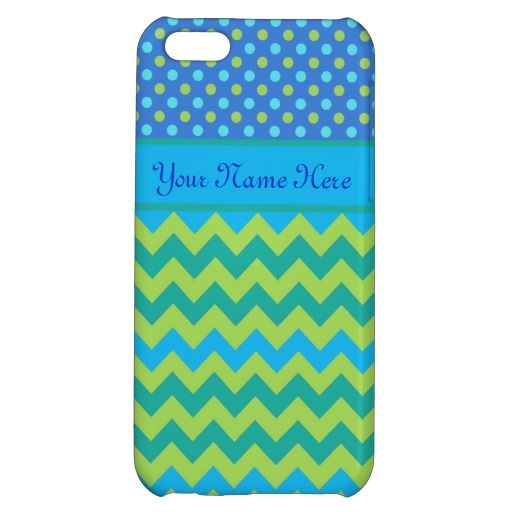 Custom iPhone 5C Case: Polka Dots and Chevrons: up to £26.95 - http://www.zazzle.co.uk/custom_iphone_5c_case_polka_dots_and_chevrons-256090191770387229?rf=238041988035411422