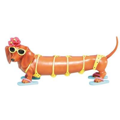 Hot Diggity Dogs Teenie Weenie Figurine $15.29