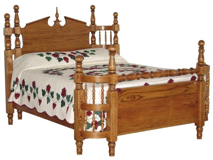 amish heirloom wrap bed