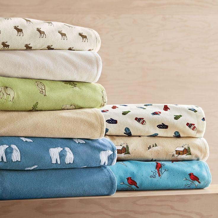 wholeHome®/MD 'Killarney' Flannel Sheet Set - Printed