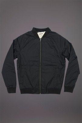 WEMOTO SATIN JACKET BLACK  WEMOTO A/W 14. 100% Nylon shell jacket with polyester lining with a breathable waterproof finish.  http://www.abandonshipapparel.com/product/wemoto-satin-jacket-black/