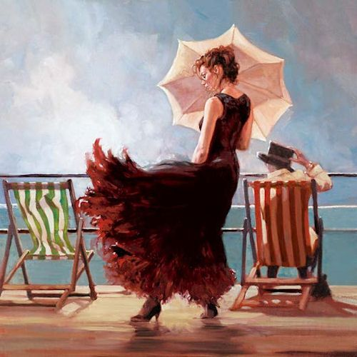 Dancing On The Deck - £231 by Mark Spain., free delivery within the UK on all orders over £75