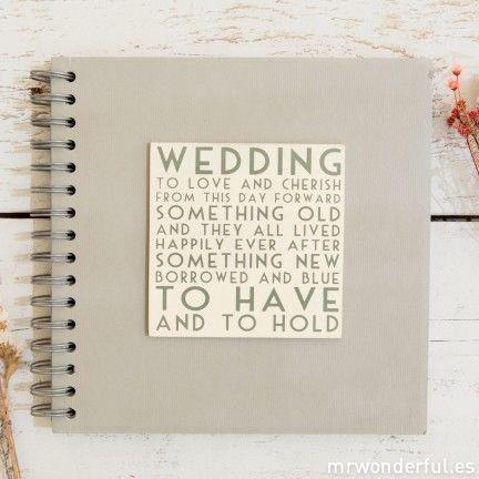Libro de firmas - Wedding