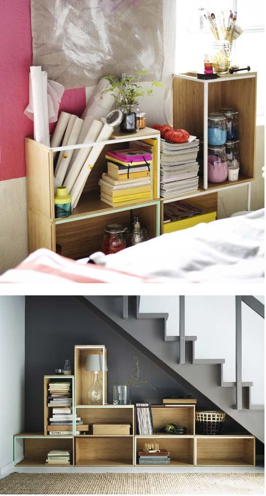 the ikea ps 2014 modules and lids allow you can create your own unique combination for storage. Black Bedroom Furniture Sets. Home Design Ideas