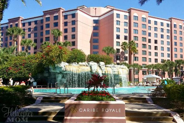 Caribe Royale - Orlando Florida Family Resort - A Helicopter Mom